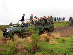 Off and away on a game drive Photo by Yoka Wright