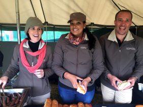 Gondwana staff ready for duty